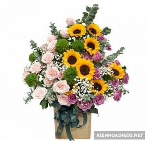 Dịch vụ điện hoa hàng đầu huyện Thới Bình Cà Mau, shop hoa tươi đẹp